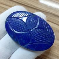 Lapis Lazuli Oyma Kabaşon